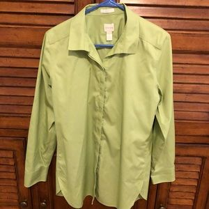 Chico's Light Green Blouse - Size 1